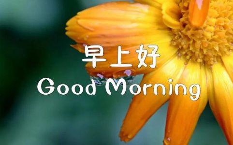早安正能量激励自己的精辟句子